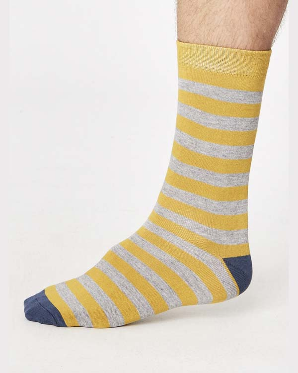 spm273-jorden-stripey-bamboo-socks-mustard-side-one-foot_3
